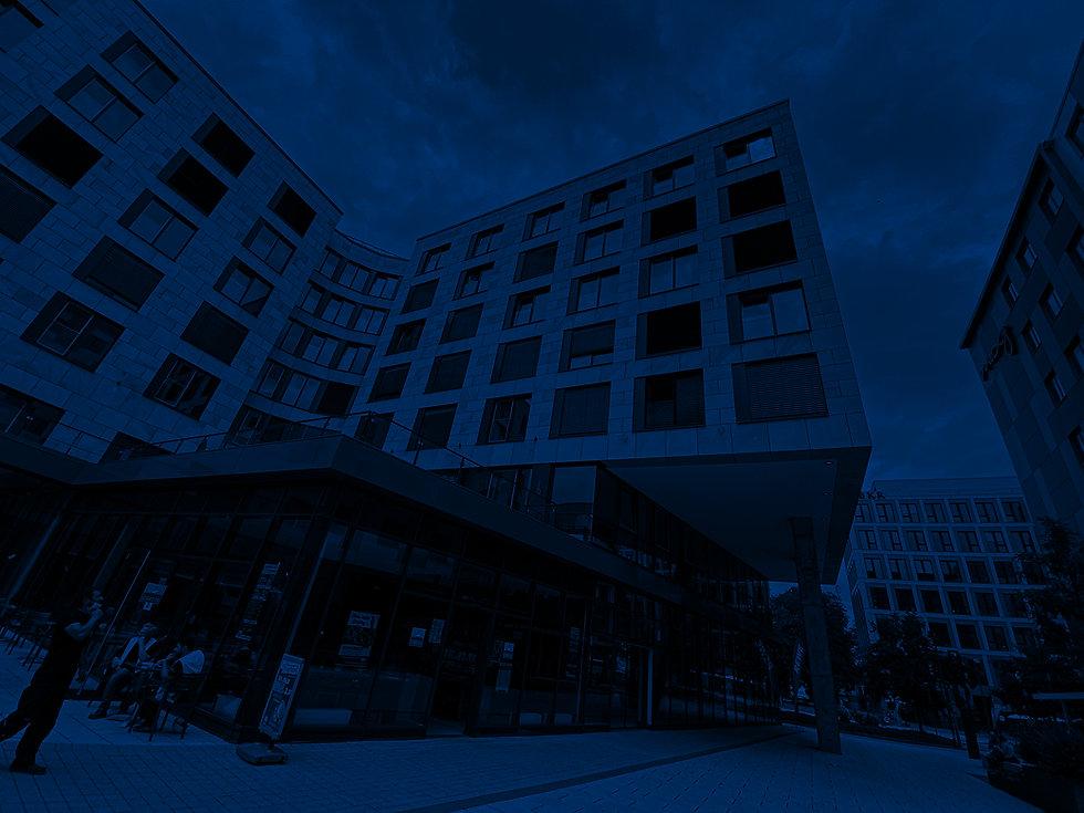 Aussenaufnahme Gebäude Rhein & Partner Büro Frankfurt
