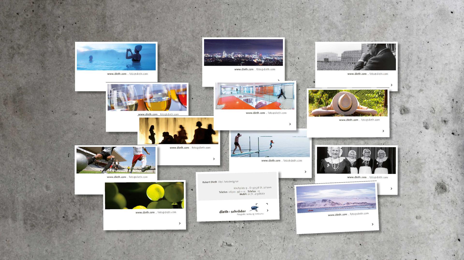 Polarlicht Visitenkarten
