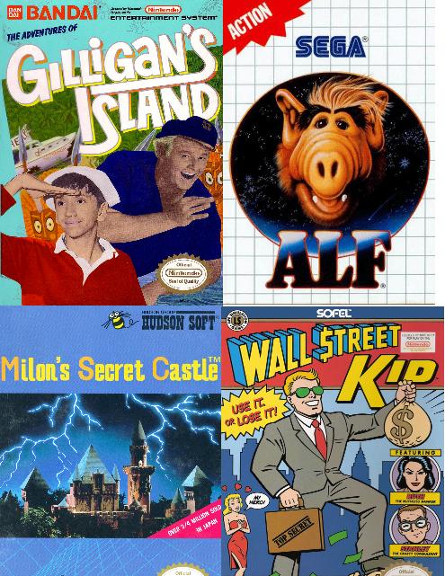 S3 EP5: Gilligan's Island (NES)/ALF (Master System)/Wall Street Kid (NES)/Milon's Secret Cas