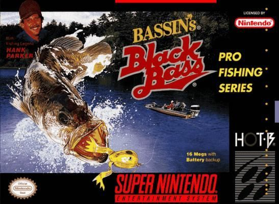 Bits and Balls Podcast EP5: Bassin's Black Bass with Hank Parker (SNES)/Fishing Stories/Ghost Ta