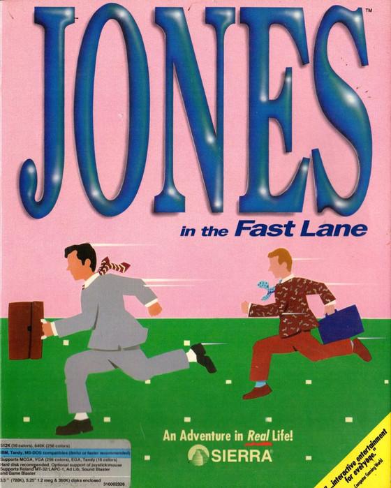 S4 EP13: Jones In The Fast Lane (PC DOS 1990, Sierra)