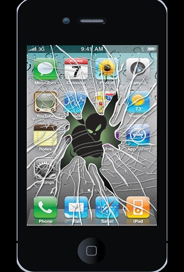 Sell Iphone  With Cracked Screen