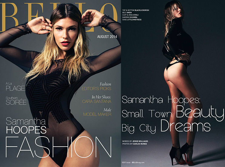 SAMANTHA HOOPES | BELLO MAGAZINE