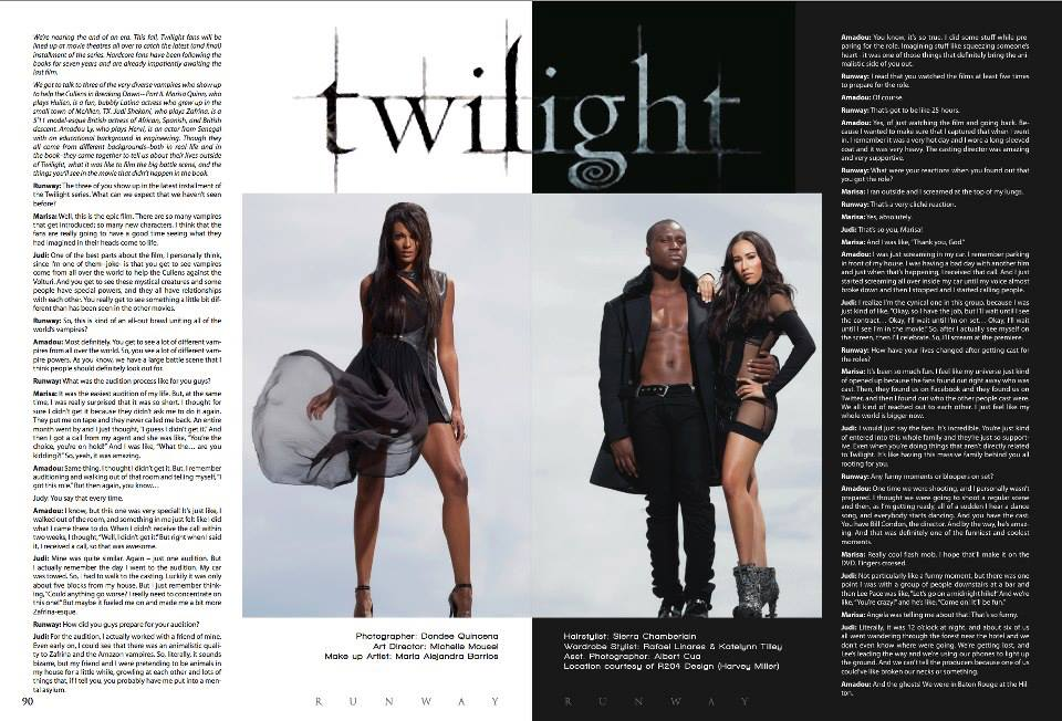 TWILIGHT | RUNWAY MAGAZINE