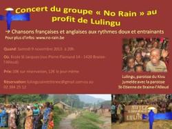 Concert NO RAIN petit