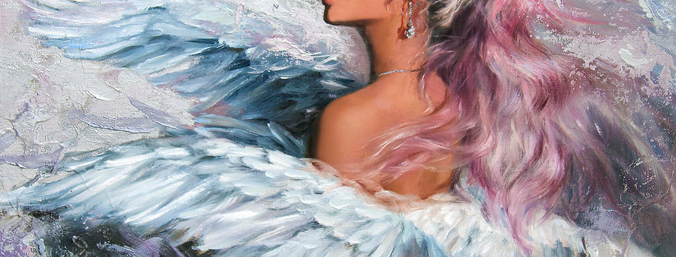 """Winged"" Limited Edition Print"