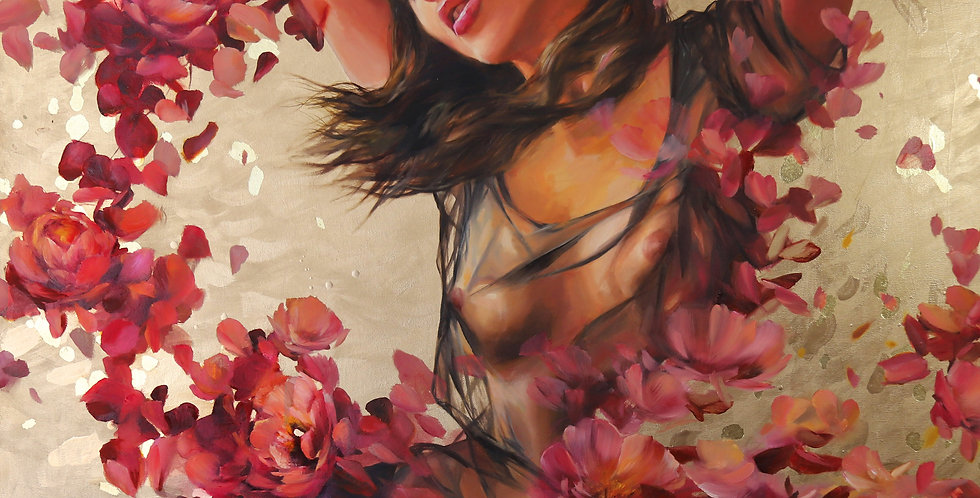 """Sweet Dreams"" Original Oil Painting"