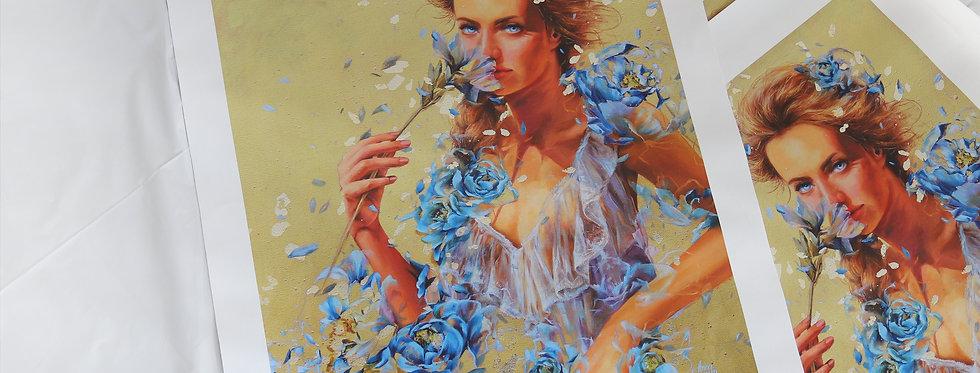 """Blue Eyes"" Limited Edition Canvas Print"