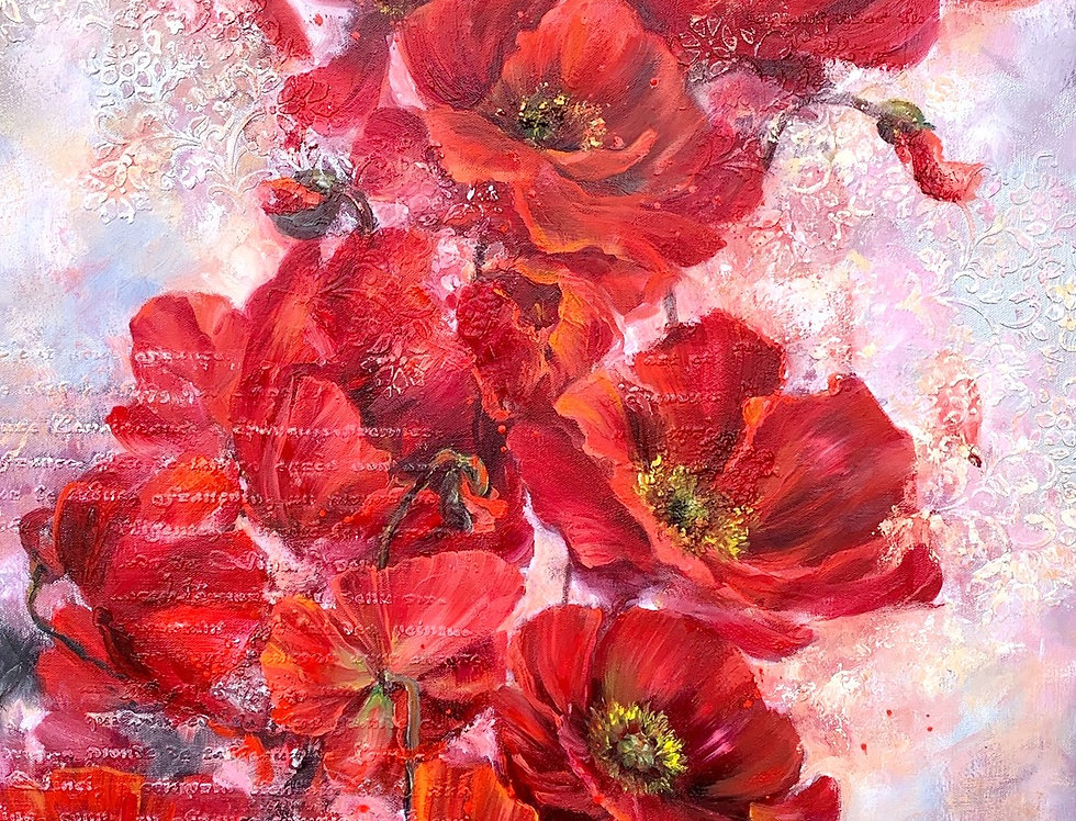"""Red Poppies"" Limited Edition Print"