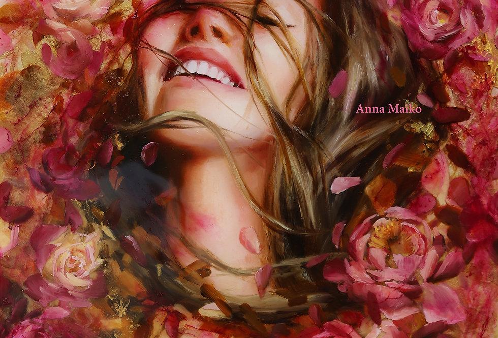 "FINE ART PRINT ""Blossom Wind"""