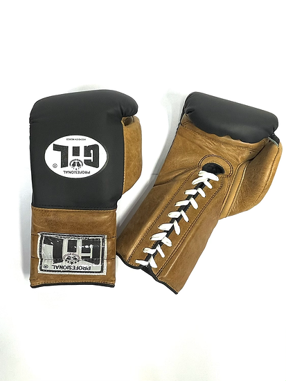 Gil Training Gloves - Black/ Vintage Brown