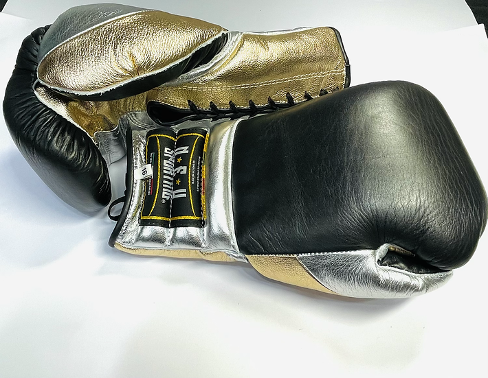 New Sporting Training Gloves - Black/ Golden/ Indian Gold