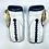 Thumbnail: New Sporting Training Gloves - Metallic Blue Navy/ White Pearl/ Gold