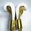 Thumbnail: New Sporting Training Gloves - Golden White