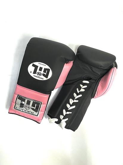 Gil Training Gloves - Black/ Pink