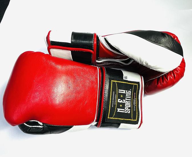 New Sporting Training Gloves - Red/ Black/ White