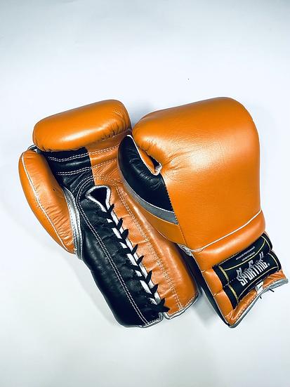 New Sporting Training Gloves - Orange/ Black/ Silver