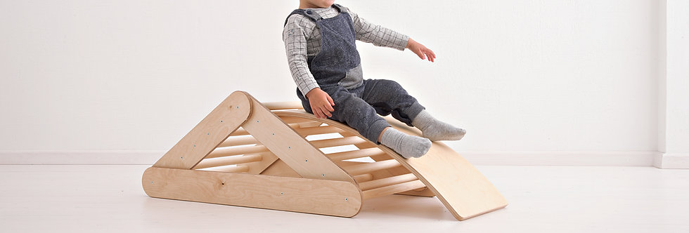 PIKLER TRIANGLE SET | WITH BALANCE BOARD