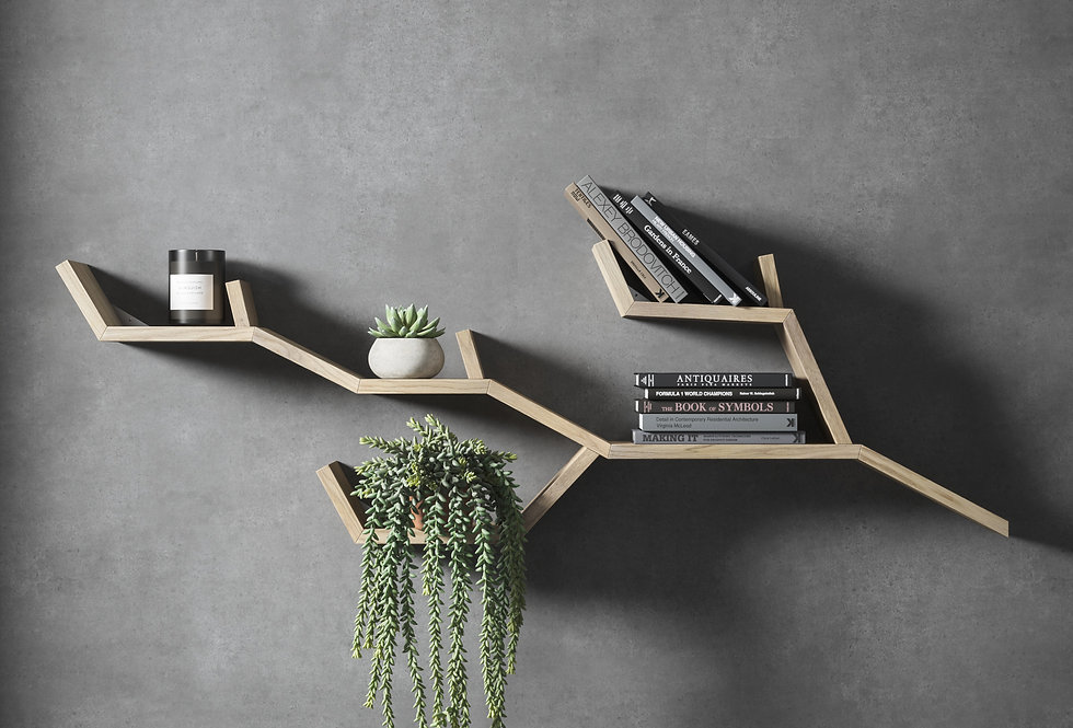 TREE BRANCH SHELF