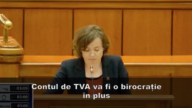 Discurs la ora Ministrului Finanțelor Mișa - Split TVA