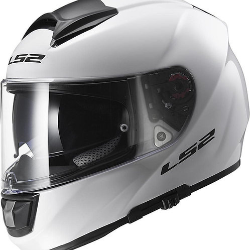 LS2 FF397 Vector Solid Gloss White