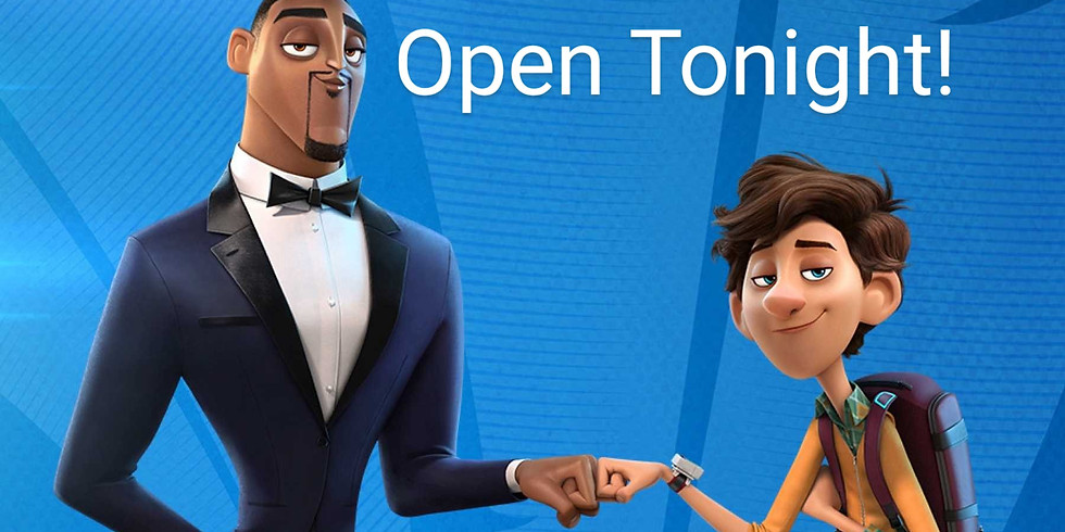 Open Tonight ~ Spies in Disguise ~ $6/ticket