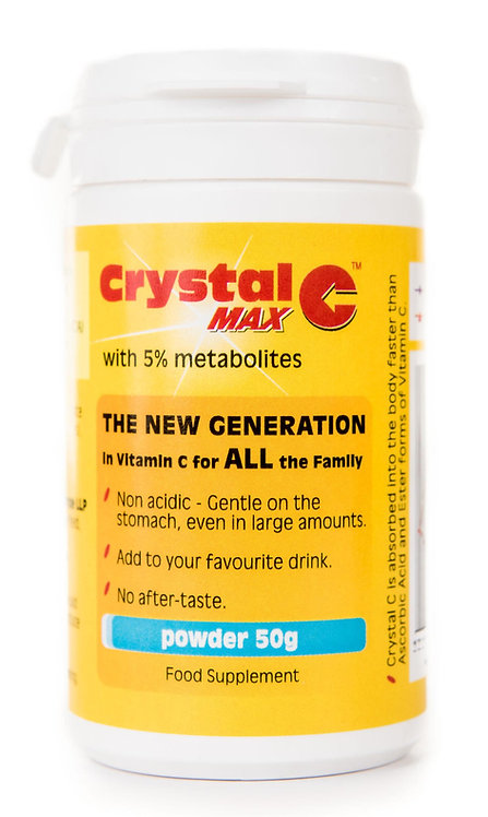 Crystal C Max Tub Powder 50g