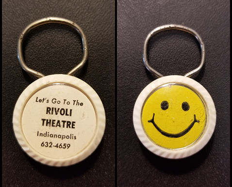 Rivoli key chain