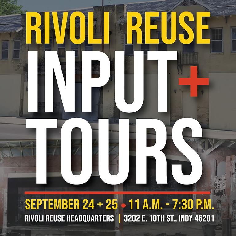 Rivoli Reuse | Input + Tours