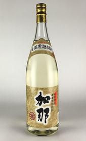 樫樽で長期貯蔵した奄美黒糖焼酎加那