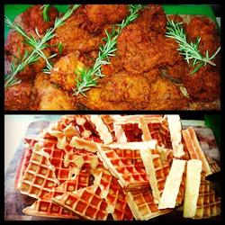 Chicken + Waffles