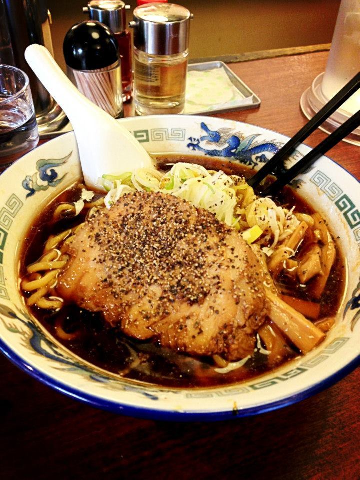 1st Bowl of Ramen in Tokyo