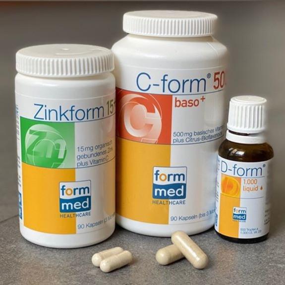 Vitamin D / Vitamin C / Zink