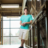 Student in Heelan Hall.jpg