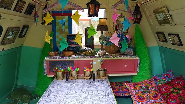 Little Wooden Caravan   Crative Play Chillout Space
