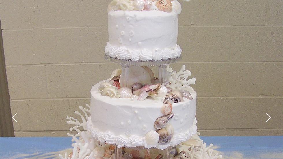 Cakes By Julana(Wedding Set One)Deposit
