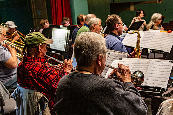 Monroe Band Rehearsal
