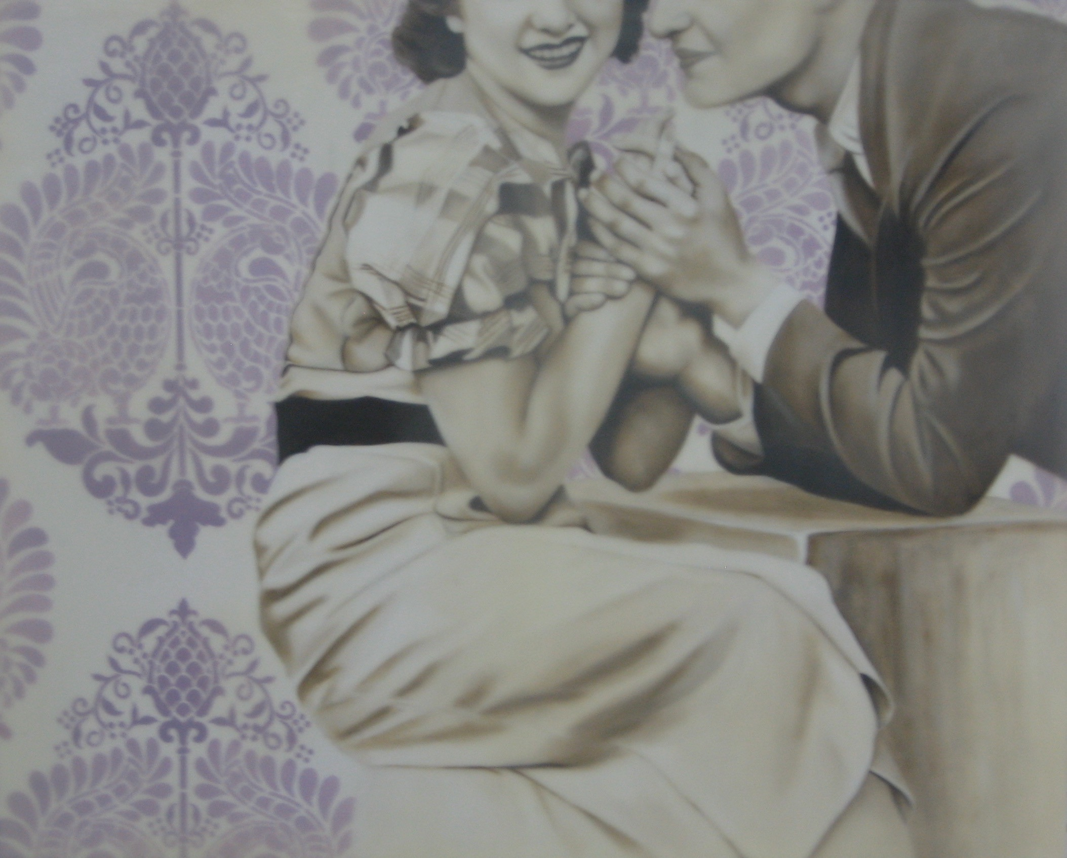 The Courtship 24X30 2014