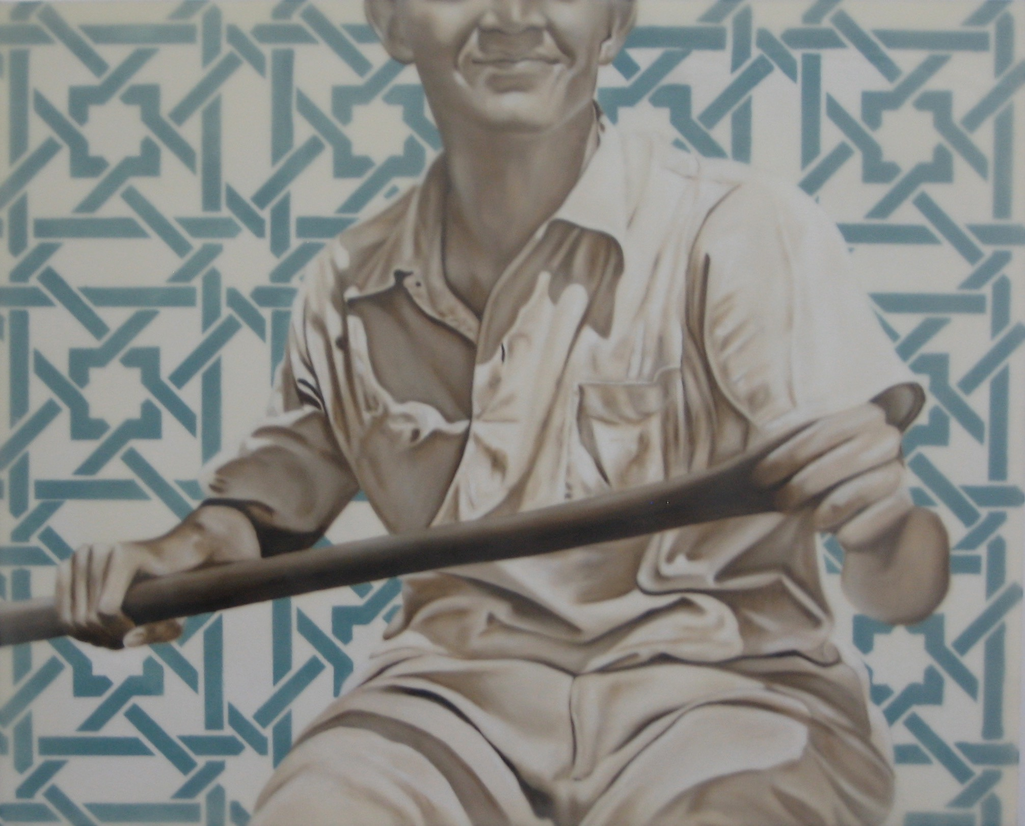 The Rower 24X30 2014