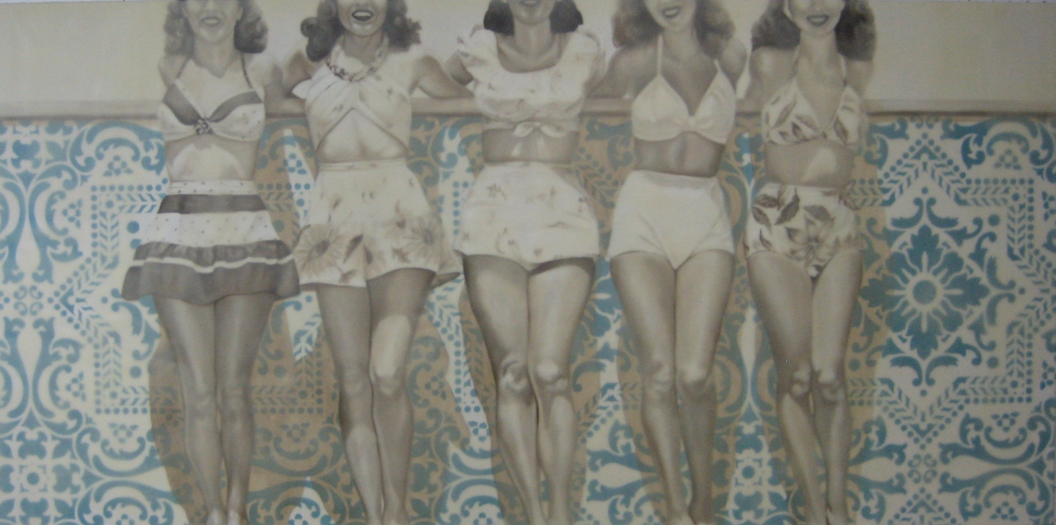 Five Pretty Ladies 30X60 2014