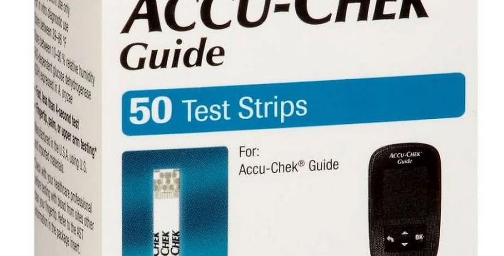 Accu-Chek Guide Test Strip 50 Ea Box