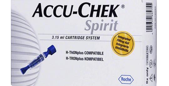 ACCU-CHEK Plastic Cartridges 3.15 ml -5/box