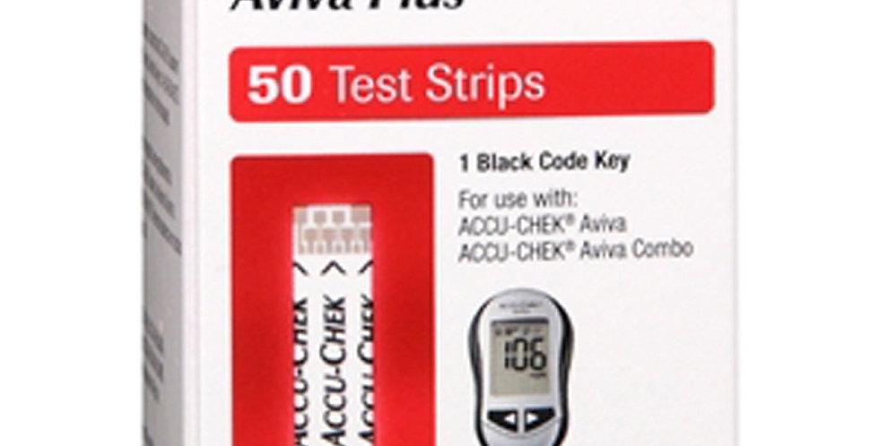 Accu-Chek Aviva Plus Test Strp 50 Ea Box