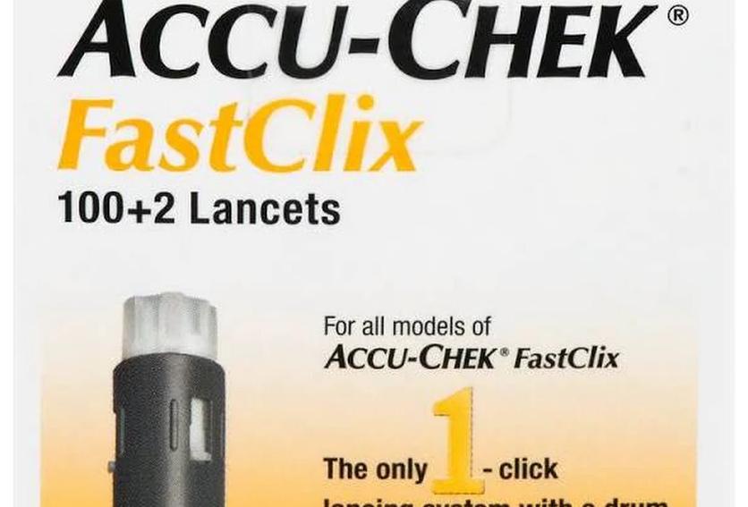 Accu-Chek Fastclix Lancets 102 Ea Box