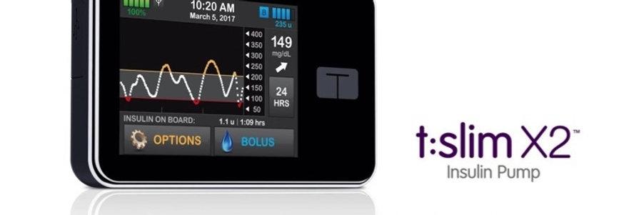 T:Slim X2 Basal-Iq Insulin Pump