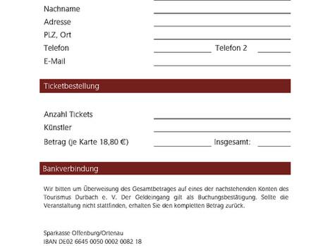 Ticketbestellung NachLESE 2020