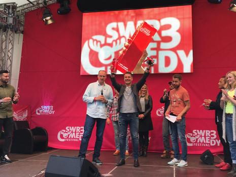 "NachLESE-Act Markus Kapp gewinnt ""SWR3 Comedy Förderpreis"""