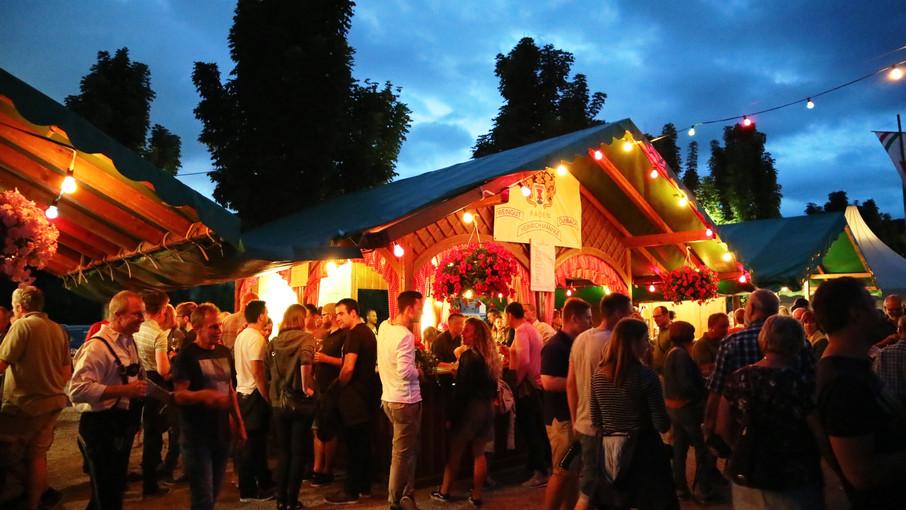 Rund 13000 Besucher kamen zum Durbacher Weinfest