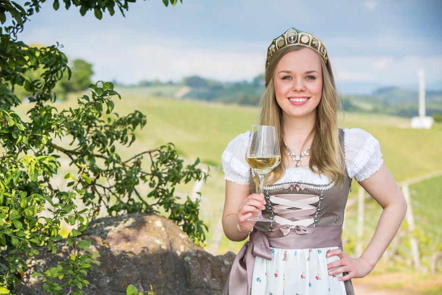 Hanna Danner ist die neue Durbacher Weinprinzessin