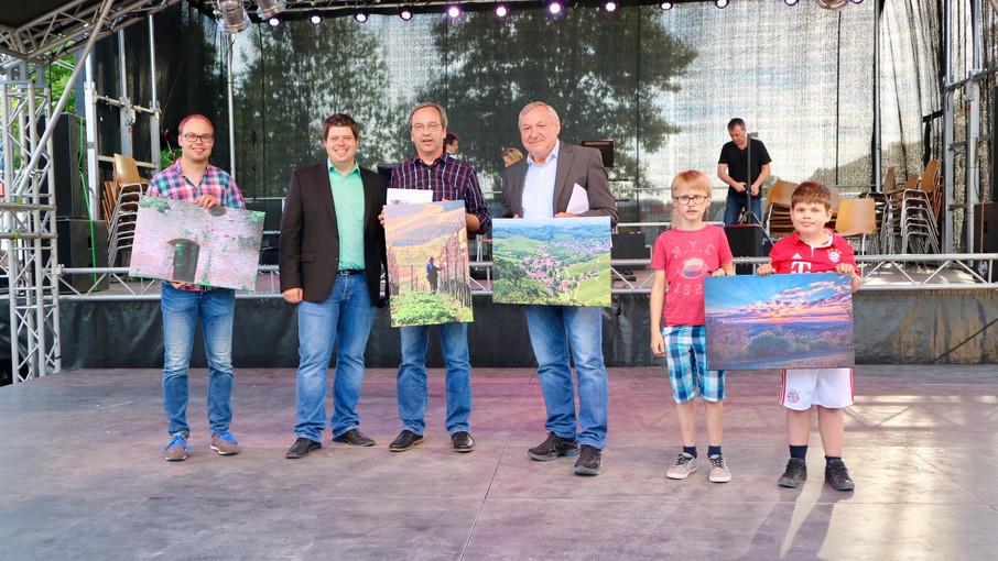 Gewinner des Fotowettbewerbs in Durbach ausgezeichnet